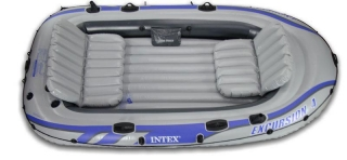 INTEX Nafukovací člun EXCURSION 4 Set